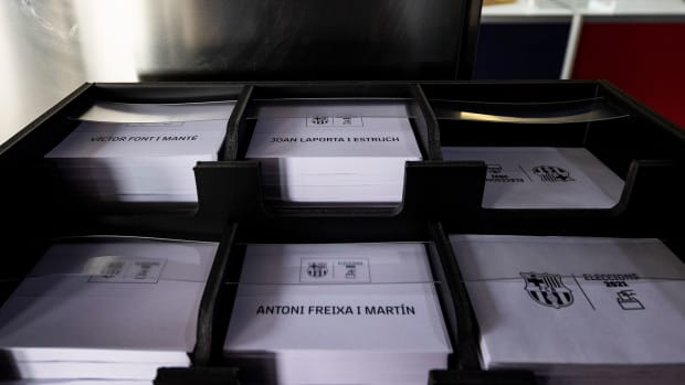 Ballots for Barcelona's presidential elections