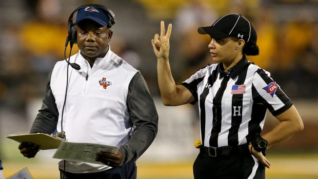 Maia Chaka has been named the first Black female official in NFL history.