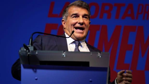 Joan Laporta is Barcelona president