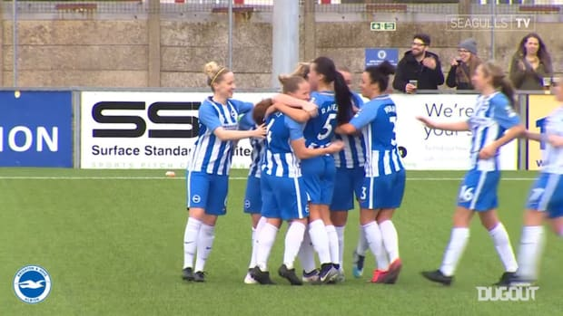 Peplow and Nilden give Brighton Women the win over Spurs