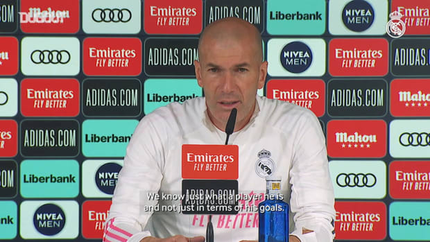 Zinedine Zidane: 'Benzema is an important player for us'