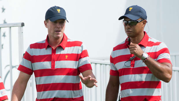 Steve Stricker Tiger Woods