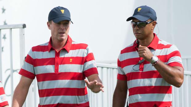 Steve Stricker Tiger Woods