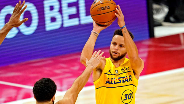 steph curry all star game 2021