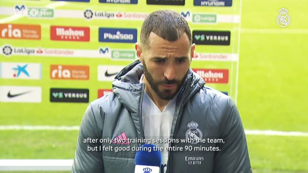 Karim Benzema: 'We'll fight until the end'