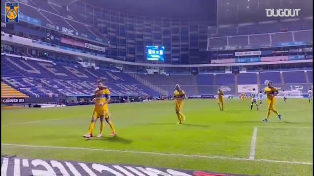 Pitchside: Gignac's penalty goal vs Puebla