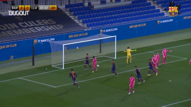 Alex Collado's incredible goal vs Llagostera