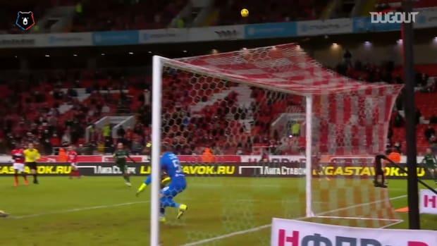 Spartak hands heavy defeat to Krasnodar