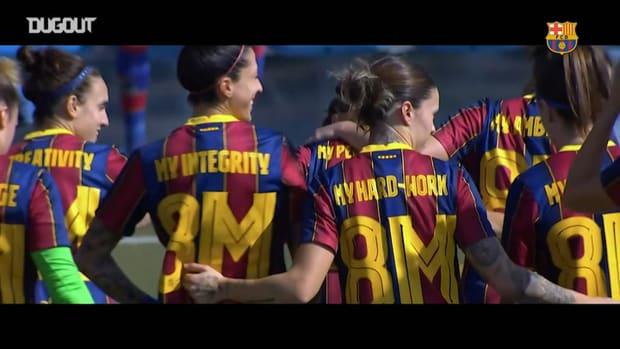 Barça Women celebrate diversity on International Women's Day