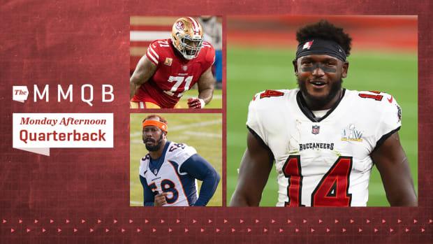 49ers OT Trent Williams, Broncos LB Von Miller and Buccaneers WR Chris Godwin