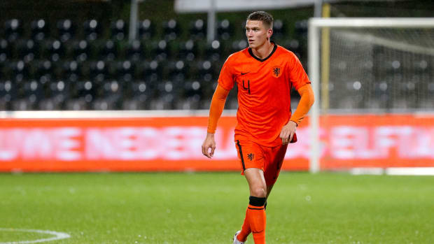 Sven Botman playing for Netherlands with Liverpool links intensifying.