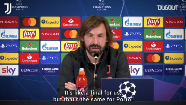 Pirlo: 'This game will decide whether or not we go through'