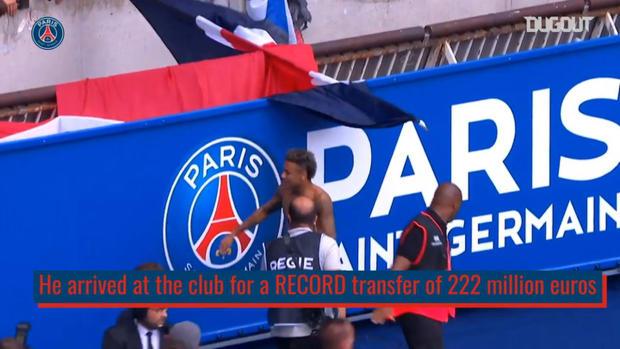 Neymar's PSG career so far