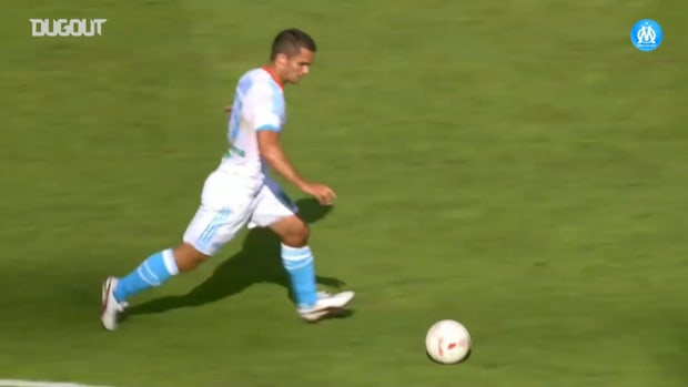 Jérémy Morel's only goal with Marseille