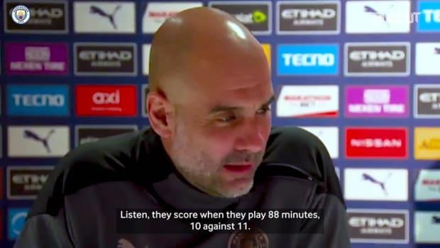 Pep jokes about '18-0' scoreline ahead of Southampton clash