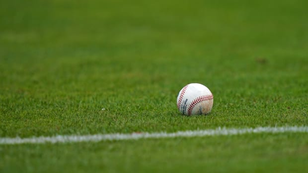 Baseball field ball