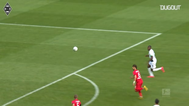 Plea and Thuram's Borussia Mönchengladbach partnership