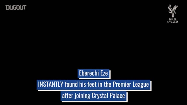 Eberechi Eze's electric start at Crystal Palace