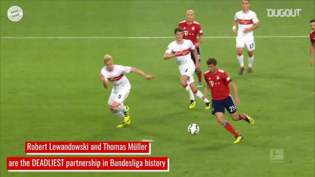 Müller and Lewandowski's devastating partnership