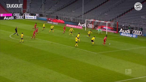 Lewandowski's stunning hat-trick defeats Dortmund