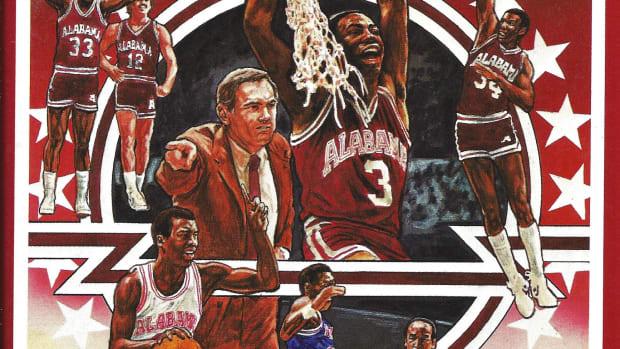 1982-83 Alabama basketball media guide