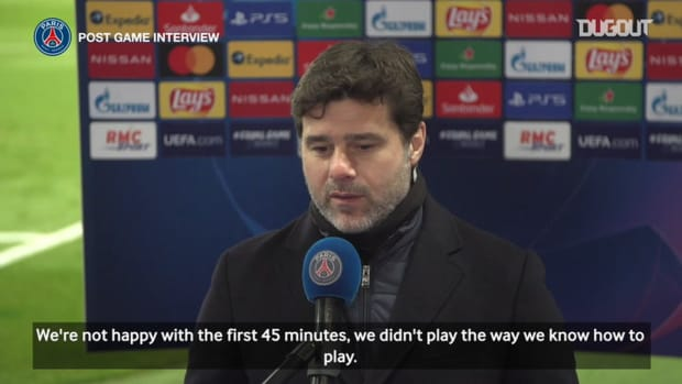 Pochettino: ' We didn't play the way we know how to play'