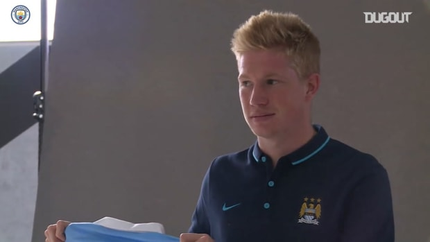 Behind the scenes: Kevin De Bruyne's first day at Manchester City