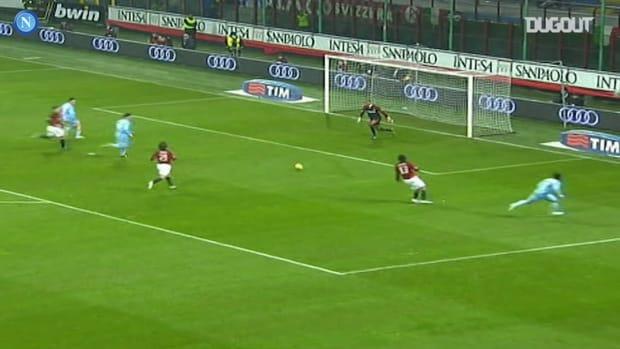 SSC Napoli's best goals vs AC Milan at the San Siro