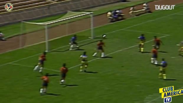 Zague's impressive scissor kick goal vs Irapuato