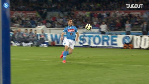 The best of Mertens against AC Milan