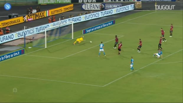 All Zieliński's goals vs AC Milan