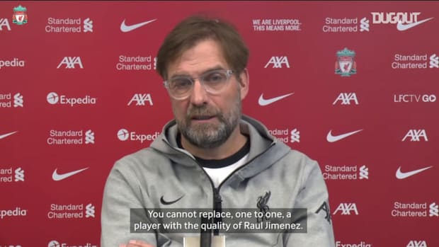 Klopp discusses Raul Jimenez and Wolves