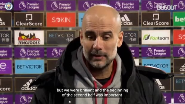 Guardiola: 'A goal for Agüero means everything to him'
