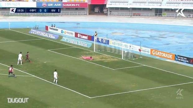 Murilo hits screamer against Seongnam