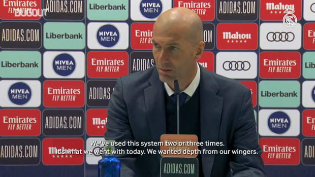 Zinedine Zidane: 'Getting the win and staying in the fight for LaLiga was important'