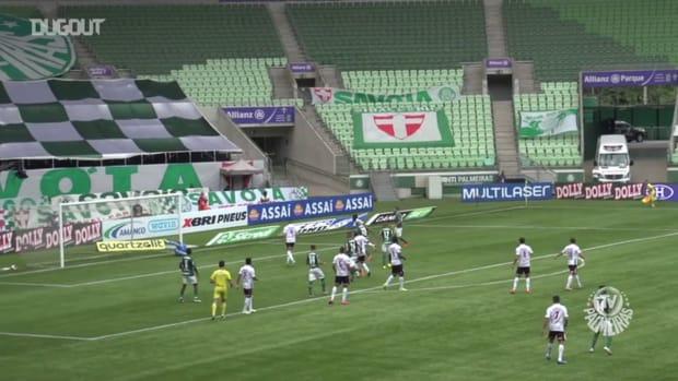 Danilo and Rafael Elias' goals against Ferroviária