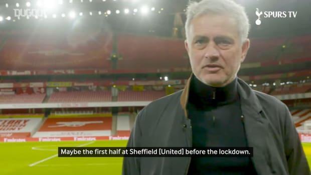 José Mourinho: 'We deserved a point'