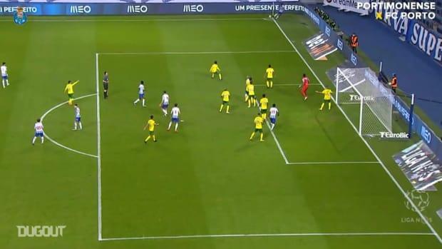 Pepe scores in FC Porto's win vs Paços Ferreira