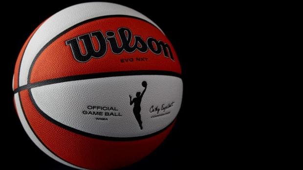 The WNBA's 25th anniversary game ball