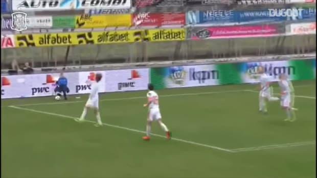 Bryan Gil's incredible solo goal with Spain U19