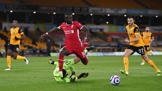 Sadio Mané bagged an assist for the opener