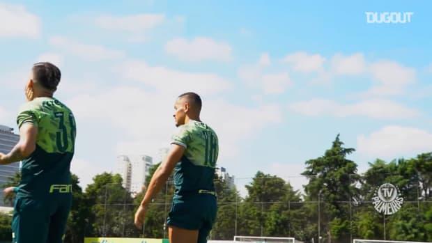 Palmeiras players are back to Academia de Futebol
