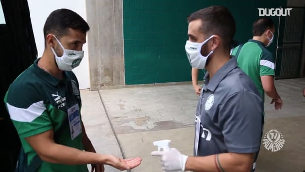 Behind the scenes of Palmeiras' victory over Ferroviária