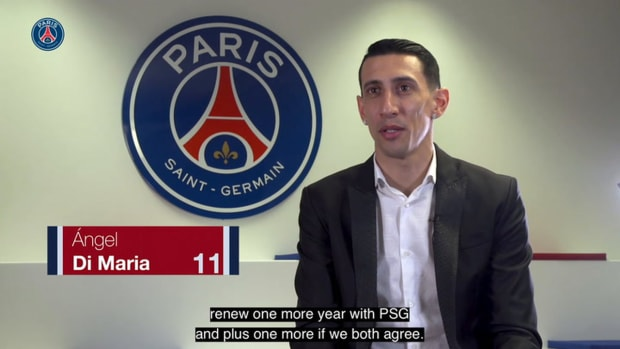 Di Maria: ' I always said that I was very happy in Paris'