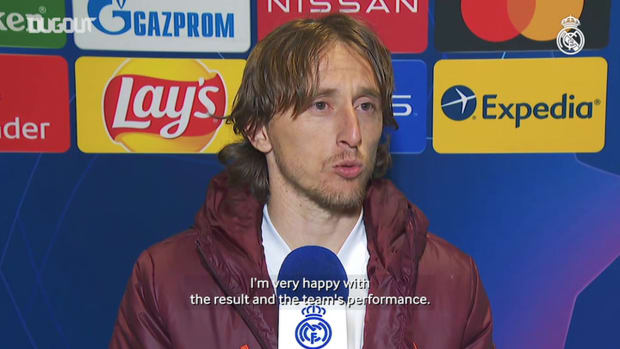 Luka Modrić: 'We're happy with the way team performed'