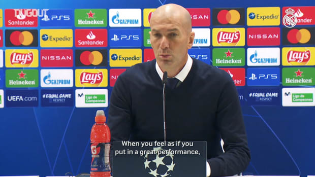 Zinedine Zidane: 'Things will get increasingly more difficult'