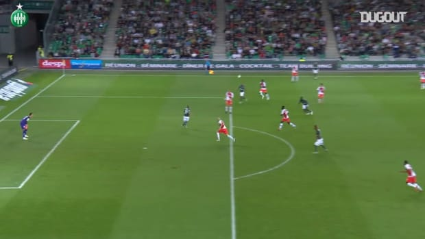 Khazri's stunning brace vs Monaco