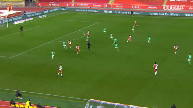 Sofiane Diop's skilful goal vs Saint-Etienne