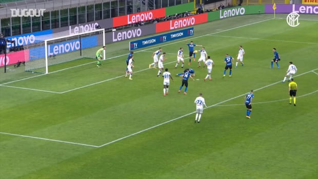 Škriniar's winning goal against Atalanta
