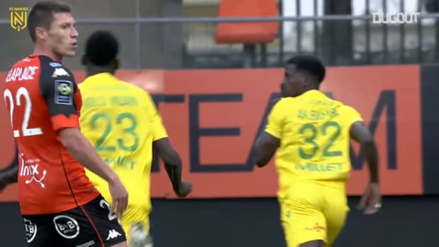 Nantes claim the win at Lorient